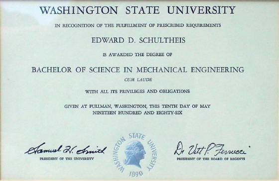 Degrees Amp Certificates
